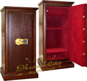 Сейфы Сейф EXOTIC-SAFE ASK-90 EL 2 Wood Oak Gold в интернет-магазине Safe1.ru