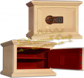 Сейфы Сейф EXOTIC-SAFE ASK-30 SK EL Wood Oak Color Ivory в интернет-магазине Safe1.ru