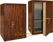 Сейфы Сейф EXOTIC-SAFE ASK-67 KL Wood Ebony в интернет-магазине Safe1.ru
