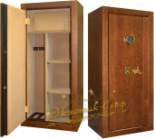 Сейф EXOTIC-SAFE ES-1250 EL+ KL Wood Oak в интернет-магазине Safe1.ru